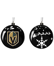 "Memory Company Vegas Golden Knights 3"" Sled Glass Ball"
