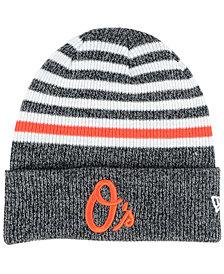 New Era Baltimore Orioles Striped Cuff Knit Hat