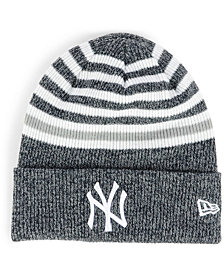 New Era New York Yankees Striped Cuff Knit Hat