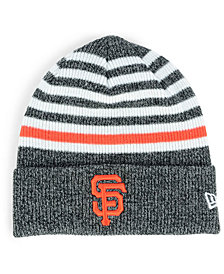 New Era San Francisco Giants Striped Cuff Knit Hat