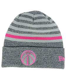 New Era Washington Wizards Striped Cuff Knit Hat