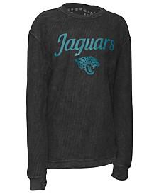 Pressbox Women's Jacksonville Jaguars Comfy Cord Top