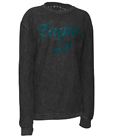 Pressbox Women's Philadelphia Eagles Comfy Cord Top