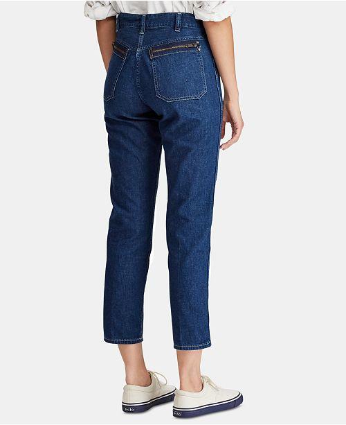 695cb7a83 Polo Ralph Lauren Workwear Denim Cotton Skinny Jeans   Reviews ...