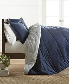Restyle your Room Reversible Comforter Set by The Home Collection, King/Cal King