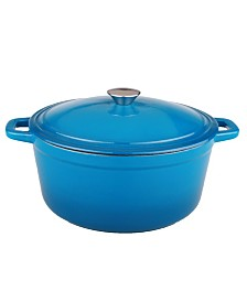 Berghoff Neo Red 5 Qt. Oval Cast Iron Casserole
