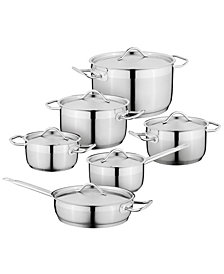 Berghoff Hotel 18/10 Stainless Steel 12 Piece Cookware Set