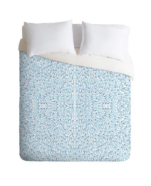 Deny Designs Iveta Abolina Cornflower Field Queen Duvet Set