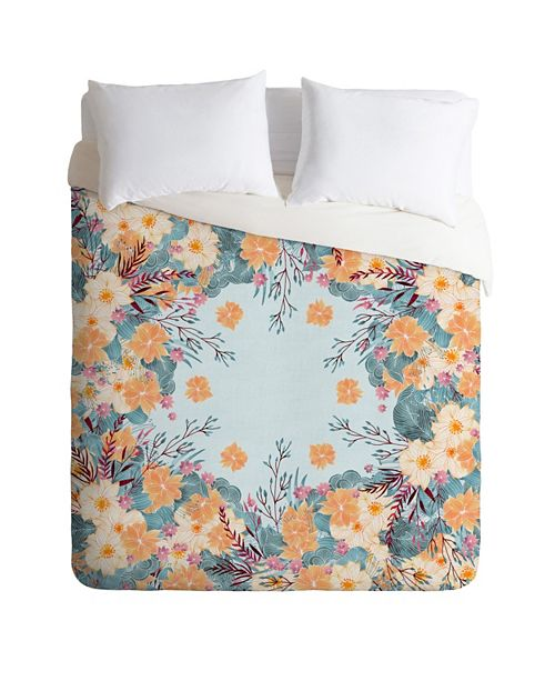 Deny Designs Iveta Abolina Tropical Air Queen Duvet Set