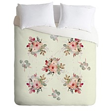 Iveta Abolina Rose Tan Queen Duvet Set
