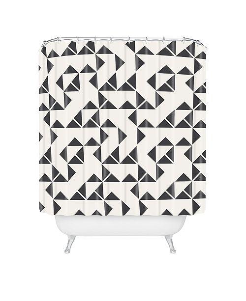 Deny Designs Holli Zollinger Pinwheels Shower Curtain