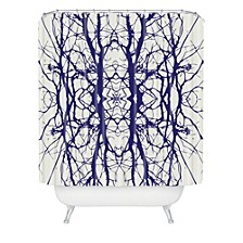 Holli Zollinger Tree Silhouette Shower Curtain