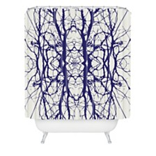 Deny Designs Holli Zollinger Tree Silhouette Shower Curtain