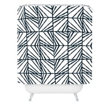 Deny Designs Heather Dutton Facets Optic Shower Curtain