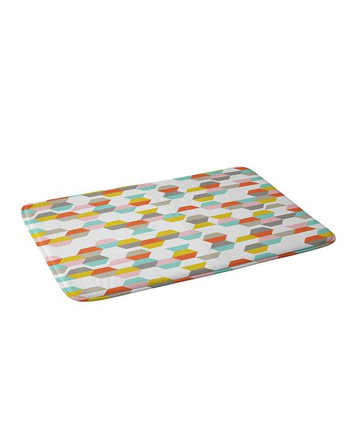 Deny Designs Heather Dutton Hex Code Bath Mat