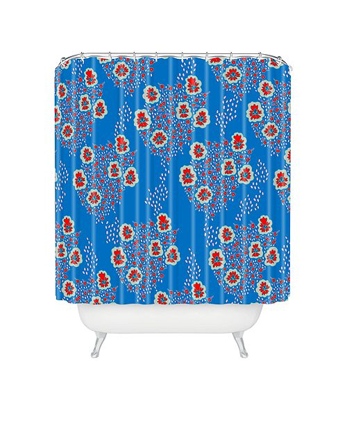 Deny Designs Holli Zollinger Boho Floral Shower Curtain