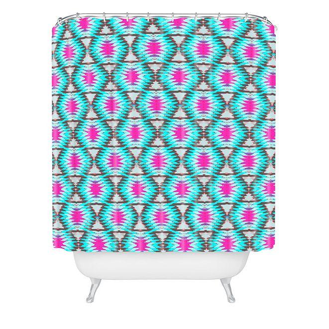 Deny Designs Holli Zollinger Azteca Shower Curtain