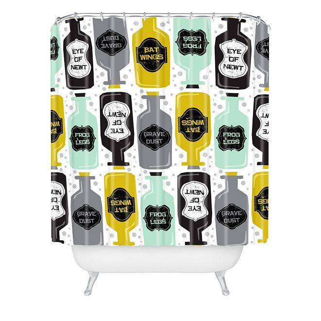 Deny Designs Heather Dutton Witches Brew Shower Curtain