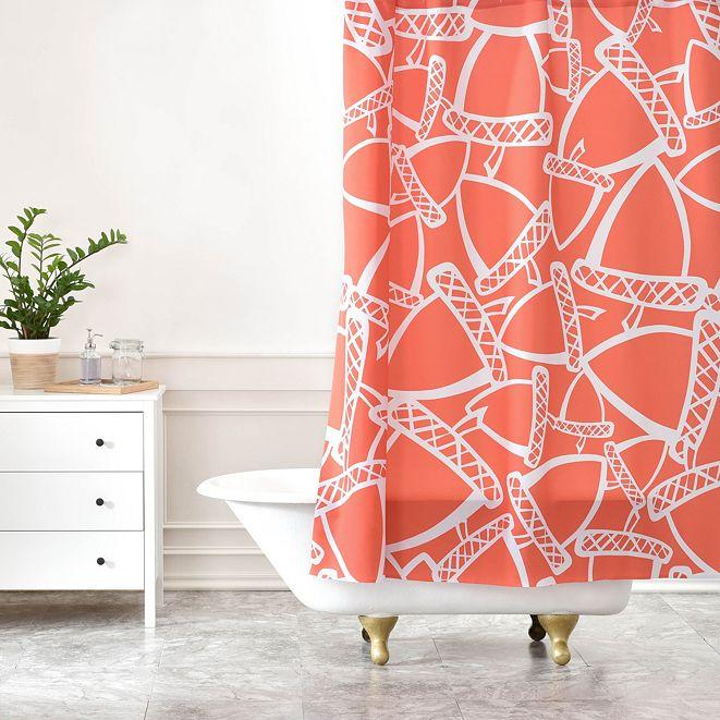 Deny Designs Heather Dutton Acorn Stash Shower Curtain