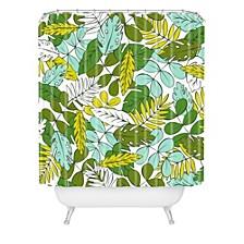 Heather Dutton Modern Tropics Shower Curtain