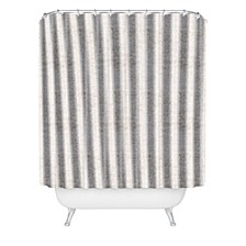 Holli Zollinger French Linen Seaside Stripe Shower Curtain