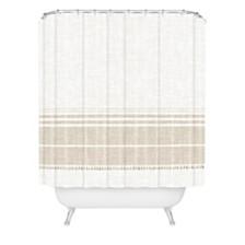 Deny Designs Holli Zollinger French Linen Tassel Shower Curtain