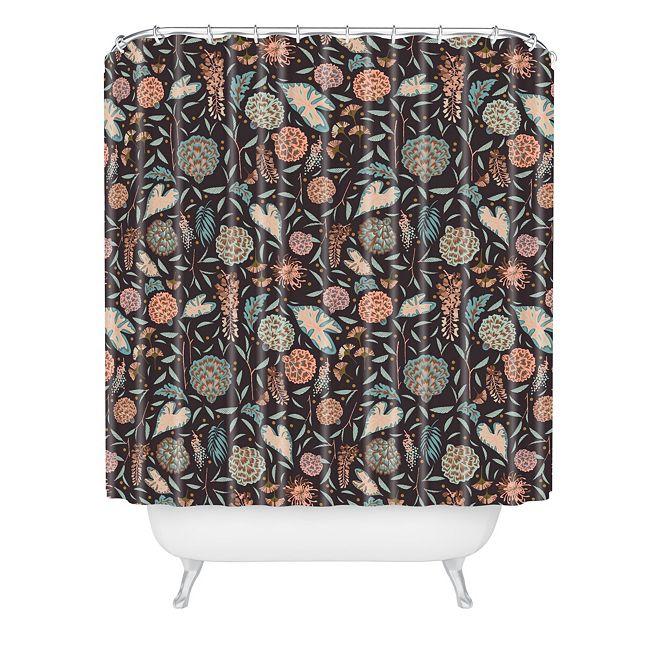 Deny Designs Holli Zollinger Night Blossom Shower Curtain
