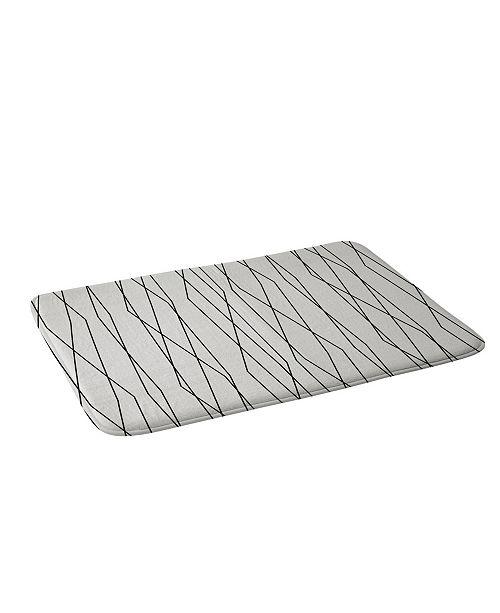 Deny Designs Heather Dutton Linear Cross Stone Bath Mat