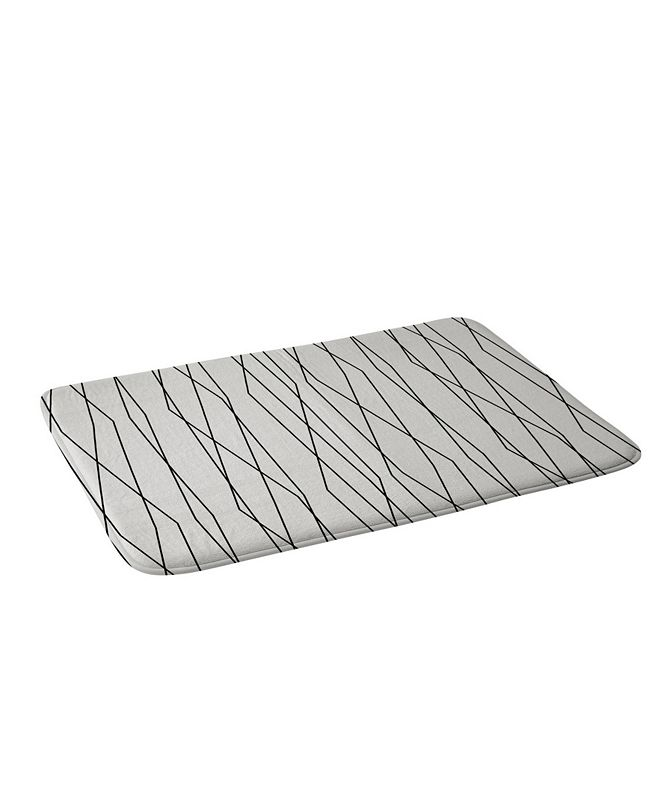 Deny Designs Heather Dutton Linear Cross Stone Bath Mat