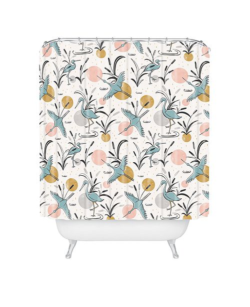Deny Designs Heather Dutton Marshland Shower Curtain