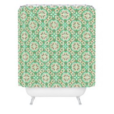Deny Designs Holli Zollinger Beaded Mosaic Shower Curtain