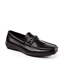Deer Stags Men's Manual Memory Foam Slip-On Driving Moc Loafer