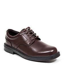 Deer Stags Men's Times S.U.P.R.O. Sock Plain-Toe Dress Comfort Oxford