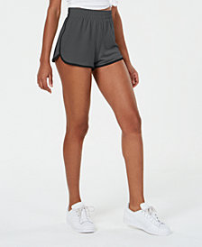 Material Girl Active Juniors' Sporty Knit Shorts, Created for Macy's