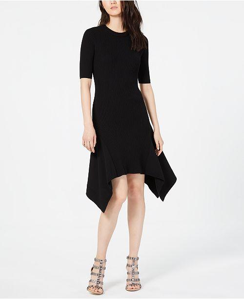 d8db51b0fe Vince Camuto Elbow-Sleeve Sweater Dress   Reviews - Dresses - Women ...
