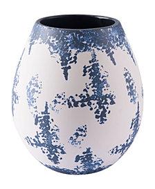 Nube Md Vase Blue & White