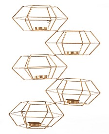 CLOSEOUT! Zuo  Wall Candle Holder, Set Of 5