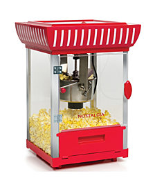 Nostalgia 2.5-Ounce Popcorn Cart - 48 Inches Tall