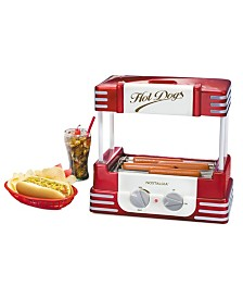 Nostalgia Hot Dog Roller And Bun Warmer