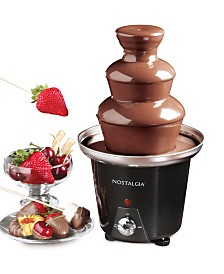 Nostalgia 3-Tier 1.5-Pound Chocolate Fondue Fountain
