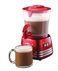 Retro 32-Ounce Hot Chocolate Maker And Dispenser