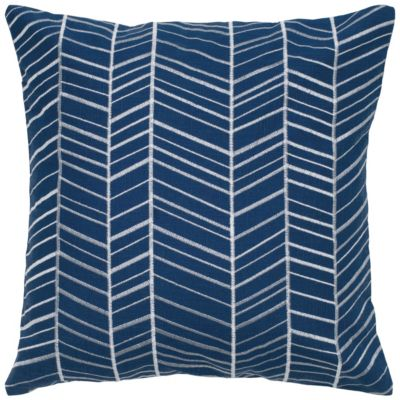 "18"" x 18"" Geometrical Design Poly Filled Pillow"