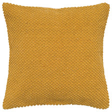 "Rizzy Home Solid Yellow 20"" X 20"" Poly Filled Pillow"
