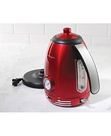 RWK150 Retro 1.7-Liter Stainless Steel Electric Water Kettle with Strix Thermostat