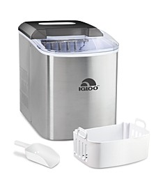 Igloo 26-Pound Automatic Ice Cube Maker - Stainless Steel