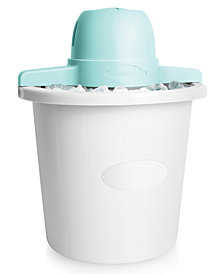 Nostalgia 4-Qt. White Bucket Electric Ice Cream Maker