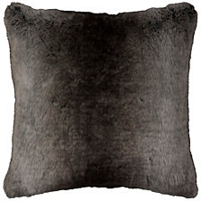 "Rizzy Home 20"" x 20"" Faux Fur Poly Filled Pillow"