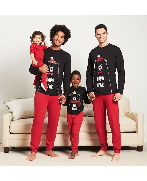 Family Pajamas Matching Bear Theme Mix and Match 6410b9975