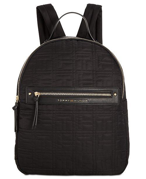 e03b83edd687 Tommy Hilfiger Zoe Backpack   Reviews - Handbags   Accessories - Macy s
