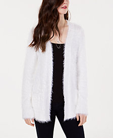 XOXO Juniors' Fuzzy Cardigan